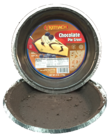 KEMACH CHOCOLATE GRAHAM PIE CRUST, PIE SHELLS, PAS YISROEL, KOSHER, YOSHON, CHOCOLATE PIE CRUST